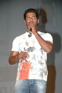 Vishal @ Vettai Audio Launch Stills