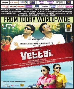 Vettai Movie Posters