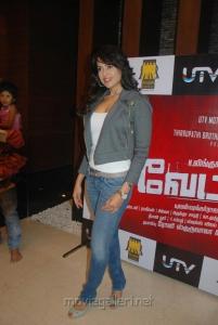 Sameera Reddy @ Vettai Premiere Show Pictures