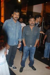 Karthik Sivakumar @ Vettai Premiere Show Pictures