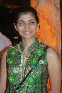 Chinmayi @ Vettai Premiere Show Pictures