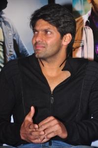 Arya @ Vettai Movie Press Meet Stills