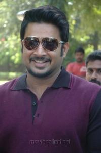 Actor Madhavan Pics in Vettai Press Show