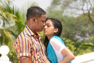 Vidiyal Raju Udhayathara in Vettaiyadu Movie Stills