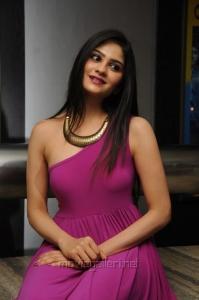 Actress Vibha Natarajan in Pink Dress Hot Pics