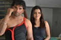 Dheeraj,Padmini at Vichakshana Movie Working Stills