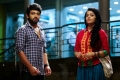 Rameez Raja, Janani Iyer in Vidhi Madhi Ultaa Movie Stills