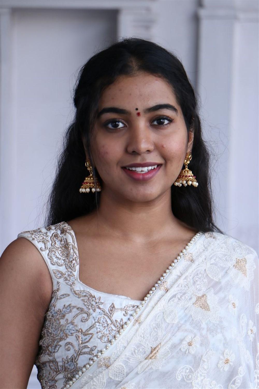 Shivathmika Rajasekhar @ Vidhi Vilasam Movie Opening Stills