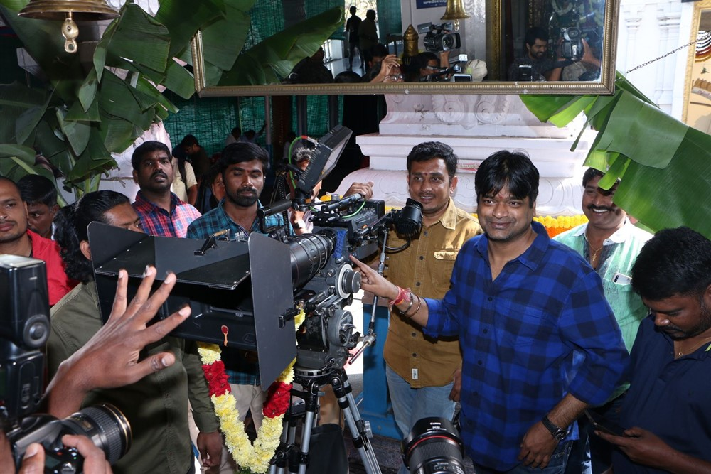 Vidhi Vilasam Movie Opening Stills