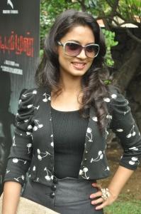 Actress Pooja at Vidiyum Mun Movie Audio Launch Stills