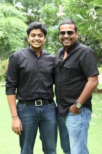 Girish Gopala Krishnan, John Vijay at Vidiyum Mun Movie Audio Launch Stills