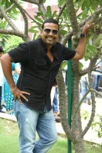 John Vijay at Vidiyum Mun Movie Audio Launch Stills