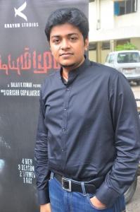 Girish Gopala Krishnan at Vidiyum Mun Movie Audio Launch Stills