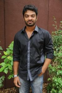 Actor Vinod Kishan at Vidiyum Mun Movie Audio Launch Stills