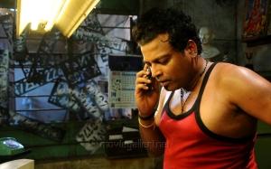 Actor John Vijay at Vidiyum Mun Movie Stills