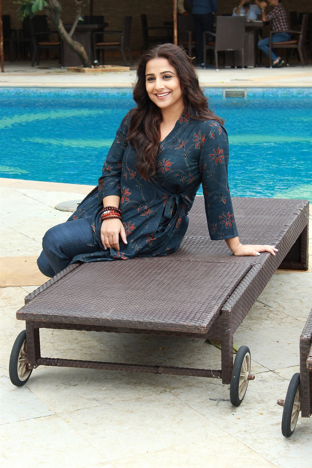 Actress Vidya Balan New Pics @ Mission Mangal Movie Promotions