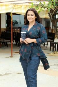 Actress Vidya Balan New Pics @ Mission Mangal Movie Promotions