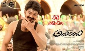 Vijay Adirindi Movie Release Today Posters