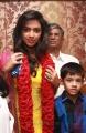 Actress Amala Paul with Actor Vijay Movie Pooja Stills