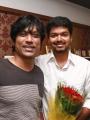 SJ Suryah at Actor Vijay AL Vijay Movie Pooja Stills