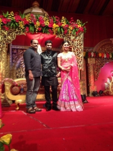 Director Roshan Andrews @ Vijay Amala Paul Engagement Photos