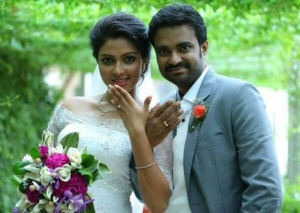 Amala Paul & AL Vijay Engagement Photos