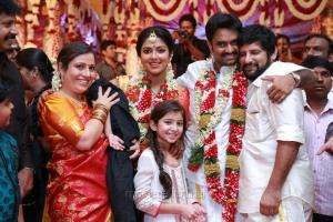 Baby Sara @ Director Vijay Amala Paul Marriage Photos