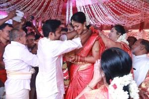 Director Vijay - Amala Paul Marriage Photos