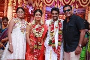 John Vijay @ AL Vijay Amala Paul Marriage Photos