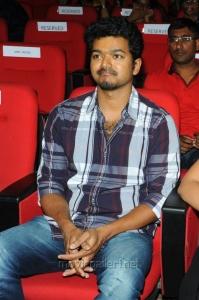 Vijay at Telugu Nanban Audio Launch