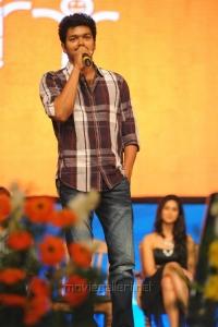 Actor Vijay in Snehitudu Audio Launch