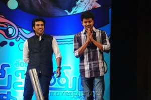 Actor Vijay in Snehitudu Audio Release