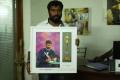 Cinematographer Sukumar at Vijay Awards Nominees 2013 Painting Invitation Photos