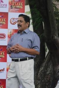 Sivakumar at Vijay Awards Rasigan Express Bus Flag Off Stills