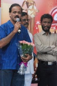 UTV Dhananjayan, Pabdiraj at Vijay Awards Rasigan Express Bus Flag Off Stills