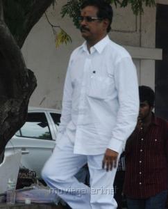Kalaipuli S.Thanu at Vijay Awards Rasigan Express Bus Flag Off Stills