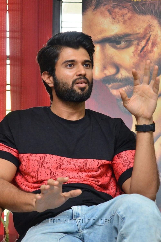 Mahanati Movie Hero Vijay Devarakonda Interview Stills