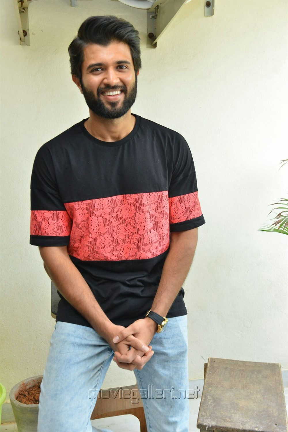 Mahanati Movie Actor Vijay Devarakonda Interview Stills
