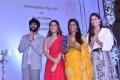 Vijay Devarakonda, Raashi Khanna, Aishwarya Rajesh, Izabelle Leite @ Creative Commercials Production No 46 Movie Launch Stills