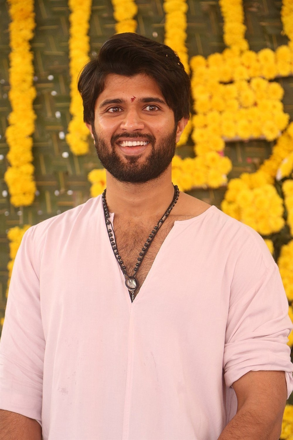 Vijay Devarakonda Mehreen Pirzada Anand Shankar Movie Launch Stills