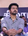 Thalapathy Vijay @ Nadigar Sangam Protest for Cauvery & Sterlite Issue Photos