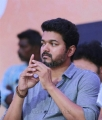 Actor Vijay @ Tamil Film Industry's protest against Sterlite and Cauvery Issue
