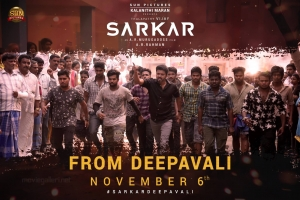 Vijay Sarkar Oru Viral Puratchi from Nov 6th Posters