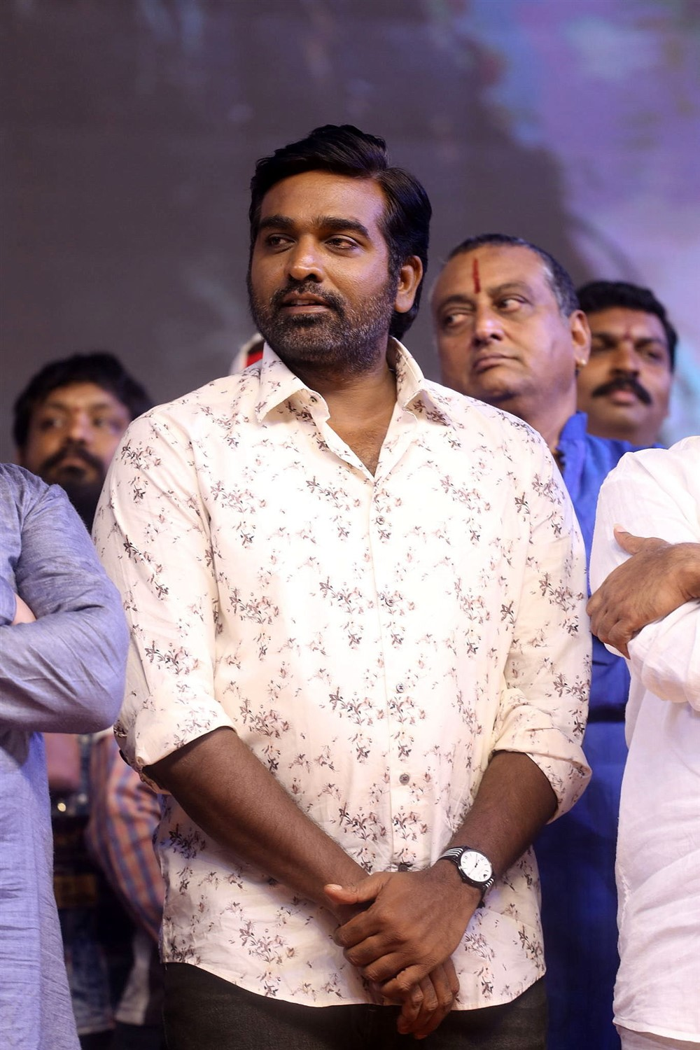 Actor Vijay Sethupathi Photos @ Sye Raa Pre Release Event