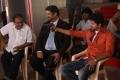 Chandra Prakash Jain, Suresh, Vijay Thalaivaa Movie On Location Photos