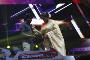 Yuvan Shankar Raja, Kushboo at Vijay Awards 2012 Stills