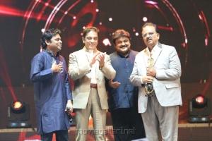 AR Rahman,Kamal,Prabhu,SPB at 6th Annual Vijay Awards 2012 Stills