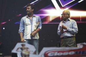 Samuthirakani, K. Balachander at Vijay Awards 2012 Stills