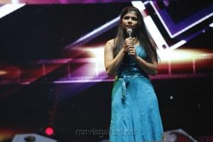 Singer Chinmayi at Vijay Awards 2012 Stills