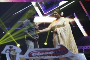Yuvan Shankar Raja, Kushboo at 6th Annual Vijay Awards 2012 Stills